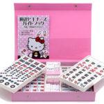 キティちゃんの「麻雀牌・麻雀マット」が新発売。サンリオ公認、大洋技研製の本物です!